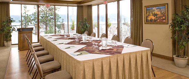 We Provide A Large Table For Your Corporate Meetings