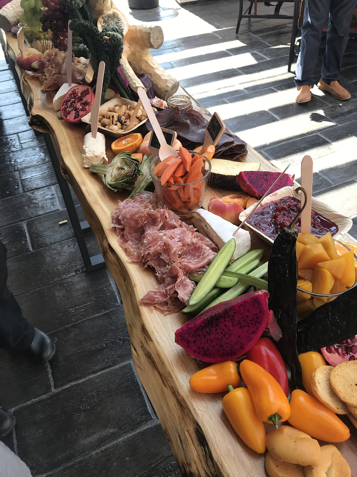 A Large Charcuterie Board And Appetizers Made By Chef Andrew Jacek